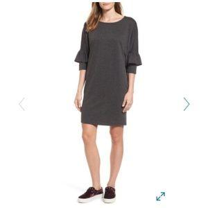 NWOT bobeau ruffle sleeve tunic dress S